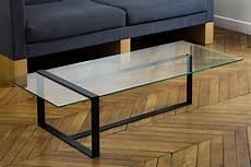 créer sa table basse table basse design en verre et m 233 tal mobilier fait 224 la