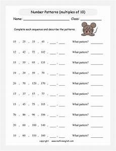 patterns worksheets for third graders 262 printable math worksheet grade 3 math patterns algebra number patterns worksheets