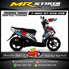 Stiker Motor Mio Gt Keren by Stiker Motor Decal Mio Gt Zomb Bulldog Stiker Motor