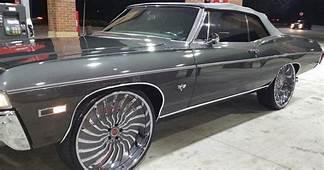 1968 Chevy Impala Convertible On 26 Inch Forgiato Wheels