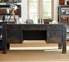 large home office furniture dawson wood desk large weathered black finish wood