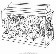 Malvorlage Fische Aquarium Aquarium Aquariumfische 01 Gratis Malvorlage In Fische