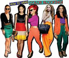 Cake12 Fashioning The Color Blocking Trend