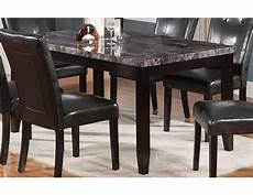 The Brick Dining Room Chairs tahoe faux marble dining table tahoeg tb the brick