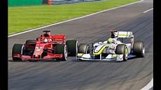F1 2018 Vs F1 Brawn Gp 2009 Monza