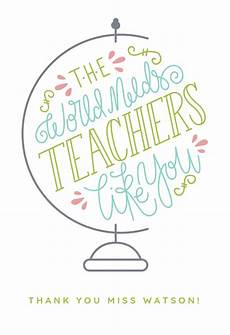 thank you card for teachers template worlds best thank you card for