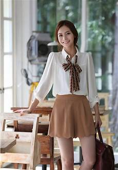 korean women career in simple style dresses fashion trends 2013 v luv fash on