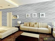 3d Wall - textured high grade polymer glue on wall 3d tiles