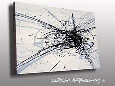 Tableau Abstrait Noir Et Blanc Recherche Id 233 E