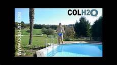 Colh2o R 233 Paration Liner Piscine Directement Sous L Eau
