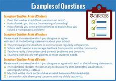 illinois surveys teachers students and parents on the essentials of school success progress