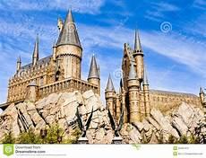 Harry Potter Schule - panorama der hogwarts schule harry potter