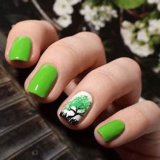 35 soothing lime green nail designs to die for