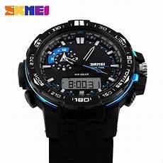 jual jam tangan analog digital casio men sport led watch skmei ad 1081 di lapak khastila anwarbl