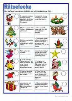 r 228 tselecke weihnachten arbeitsblatt kostenlose daf