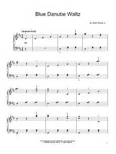 by the beautiful blue danube sheet music by johann strauss ii easy piano 71986