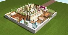 exemple de plan de maison en 3d gratuit simulation maison 3d gratuit l impression 3d