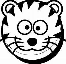 Katzengesicht Malvorlage Cat Tiger Coloring Page Wecoloringpage
