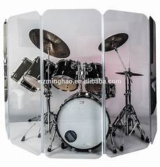 Clear Drum Shield Five Panels With U Shape