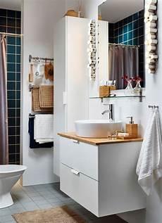 mobilier salle de bain ikea salle de bain blanche avec colonne de rangement et