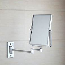 square makeup cosmetic mirror double sided magnifying wall mounted mirror ebay