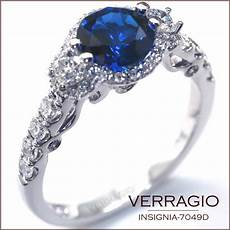 engagement rings by verragio insignia 7049d with a sapphire center verragio news all about