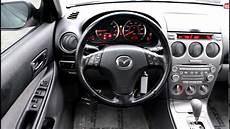 Mazda 6 Innenraum - 2004 mazda 6 i black stock ln95558 interior