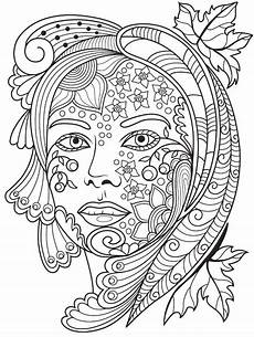 beautiful faces coloring page colorish app free coloring app for adults by goodsofttech