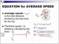 Average Speed Physics Part 1