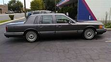 auto air conditioning repair 1992 lincoln town car instrument cluster sell used 1992 lincoln town car executive sedan 4 door 4 6l 2 owner car in salt lake city