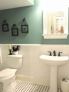 wall decorating ideas for bathrooms 15 half painted wall decor ideas