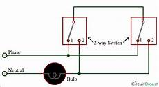 two way electrical switch wiring diagram how to connect a 2 way switch with circuit diagram