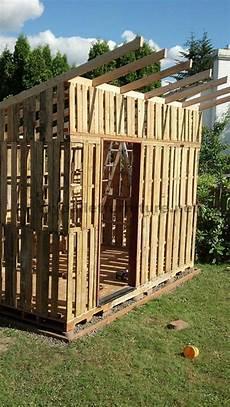 Das Gartenhaus Mit Paletten Curt Gemacht 6 Ideen