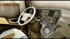mercedes actros mp4 4x2 exclusive interior for gta