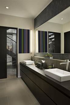 modern bathrooms ideas luxury ski resort in montana by len cotsovolos
