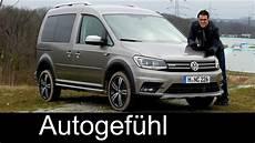 Vw Volkswagen Caddy Alltrack Review Offroad Test