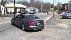 2012 audi s4 stage 2 awe catback exhaust great sound youtube