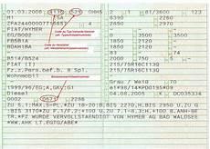 Zulassungsbescheinigung Teil 1 Ps - partikelfilter f 252 r reisemobile seite 6 hme reisemobil