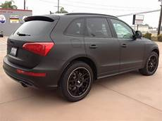 another angle of the 2013 audi q5 vinyl wrapped in matte