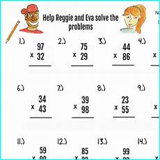 2pgs double digit multiplic by brad hines teachers pay teachers
