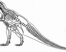 dinosaur skeleton coloring pages at getcolorings