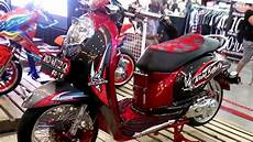 Modifikasi Scoopy by Juara Nasional Honda Scoopy Modifikasi Kelas Stock Bold On