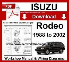 online auto repair manual 1994 isuzu rodeo security system isuzu rodeo workshop service repair manual download