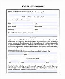 free 23 printable power of attorney forms pdf