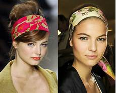 Hairstyles With Scarves