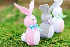 Sock Bunny Easter Crafts For A Pumpkin And A Princess