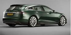 tesla model custom car builder launches tesla model s shooting brake