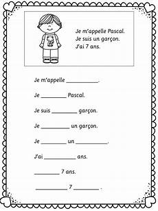 easy worksheets for beginners 19174 back to school c est moi je me presente learn classroom