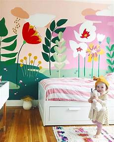 Bedroom Easy Wall Mural Ideas by 20 Easy Playroom Mural Design Ideas For Houses