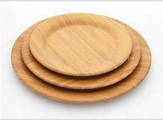 bamboo plates..unbreakable reusable! LOVE   Bamboo
